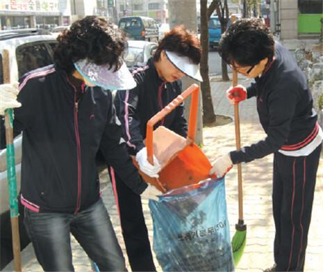 2009 자원봉사 우수사례집_ 아파트 단위의 자원봉사 볼런티어 홈타운 프로그램