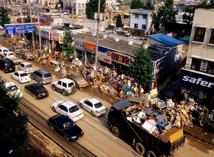 2002 강릉 태풍 루사 피해 및 복구 현장 (01/73)