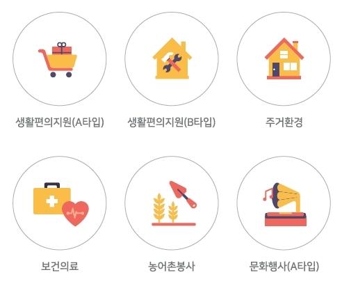 대한민국 자원봉사활동 이미지(아이콘,픽토그램,일러스트레이션) 83종 무료 배포