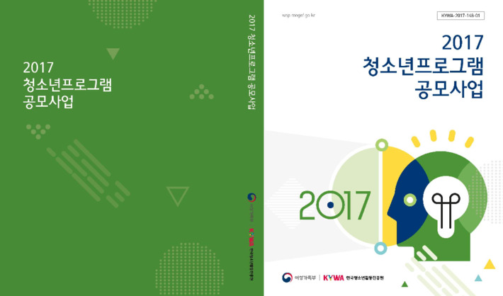 2017 청소년프로그램 공모사업