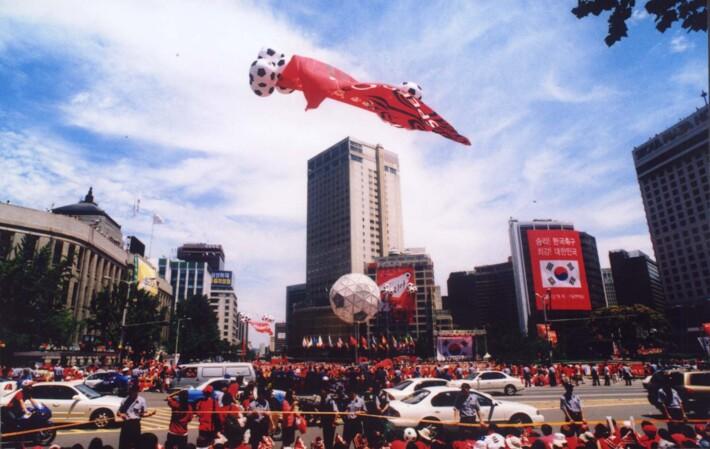 2002 한일월드컵 행사지원분야 매니지먼트