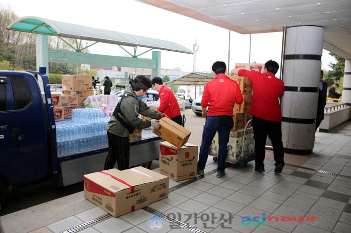 세월호 침몰 참사 관련 자원봉사