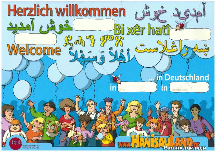Herzlich willkommen in Deutschland! (독일에 오신 것을 환영합니다!)