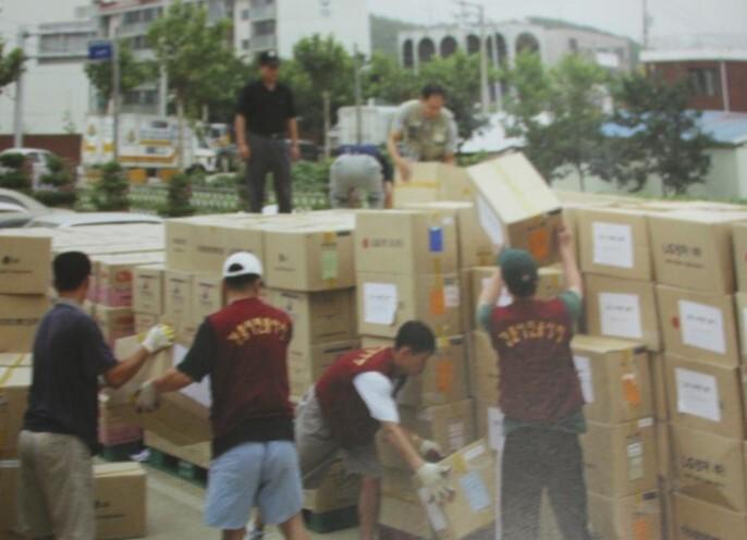 2002 강릉 태풍 루사 피해 및 복구 현장 (51/73)
