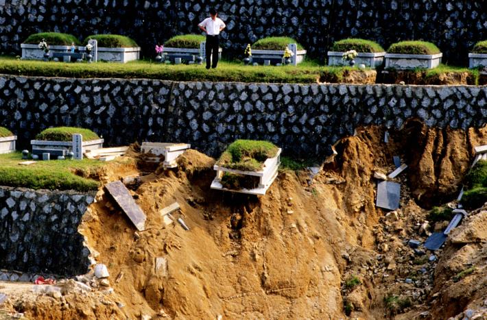 2002 강릉 태풍 루사 피해 및 복구 현장 (64/73)