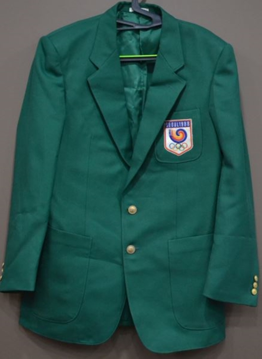 88서울올림픽 자원봉사 관련 이장원씨 기증 운영요원 재킷