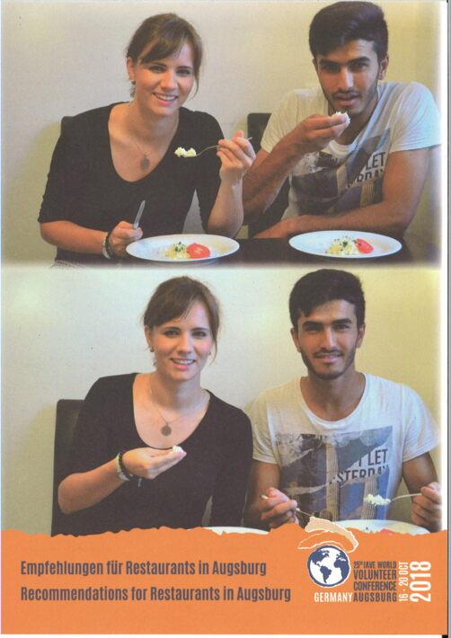 Empfehlungen fur Restaurants in Augsburg Recommendations for Restaurants in Augsburg