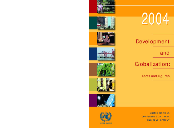 Development and Globalization: Facts and Figures