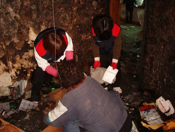 산불피해(낙산사 화재) 인근마을 복구지원활동