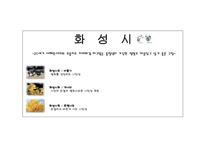 경기도청소년활동진흥센터 활동터전 - 화성시