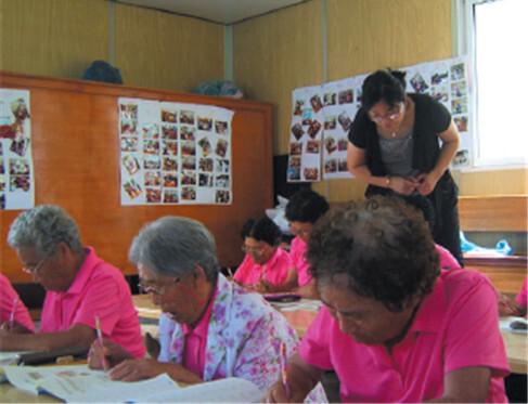 2009 자원봉사 우수사례집_ 문해교육사 전문봉사단 육성 및 찾아가는 문해교실