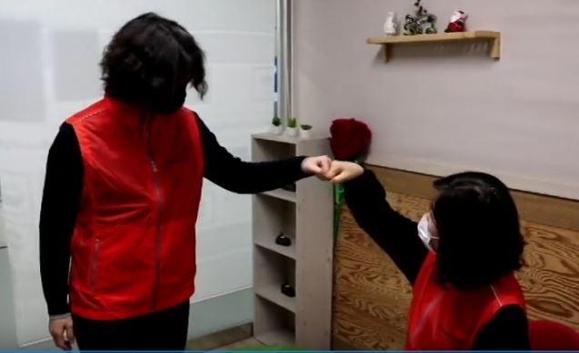 """광산구자원봉사센터 코로나-19 예방 캠페인 1탄 """"인사 방법"""""""