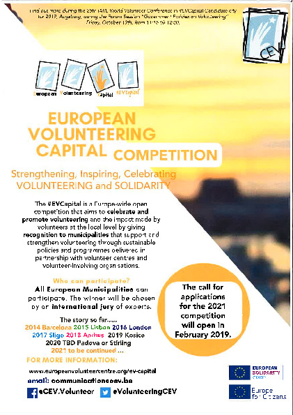 EUROPEAN VOLUNTEERING CAPITAL COMPETITION