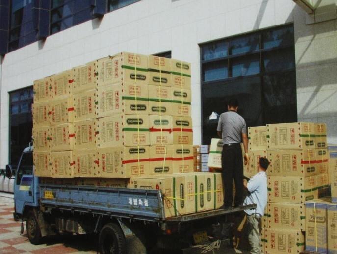 2002 강릉 태풍 루사 피해 및 복구 현장 (49/73)