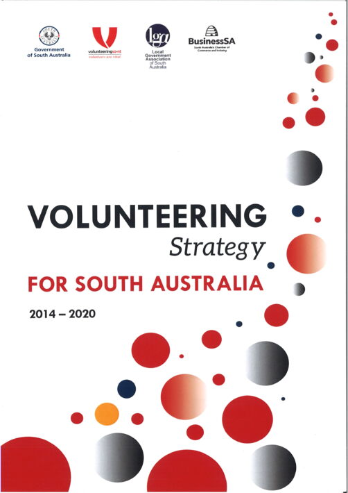 VOLUNTEERING STRETAGY FOR SOUTH AUSTRALIA