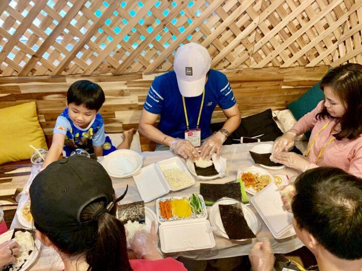 대한외국인분들과 Baby 김밥 만들기!!!