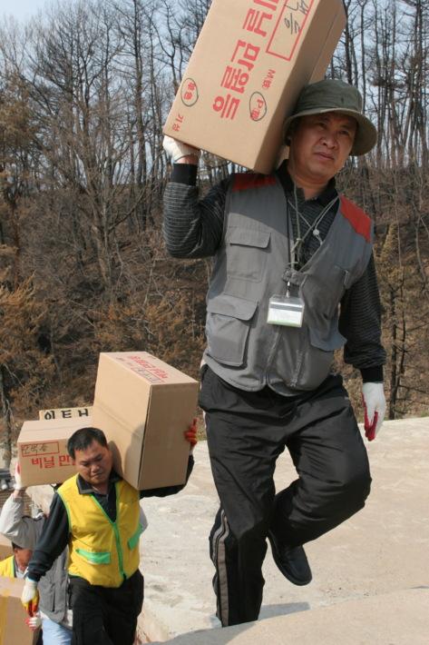 양양 산불피해(낙산사 화재) 인근마을 복구지원활동