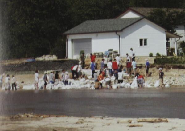 2002 강릉 태풍 루사 피해 및 복구 현장 (59/73)