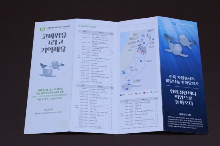 2017 전국자원봉사자대회 제12회 자원봉사의 날 기념 어깨띠
